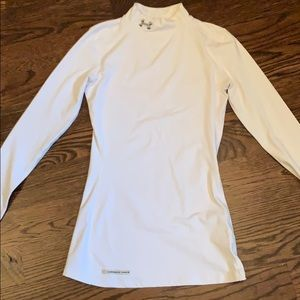 Under Armour Cold Gear Mock Turtle Neck